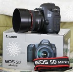 Canon EOS 5D Mark III me lente EF 24-105mm IS